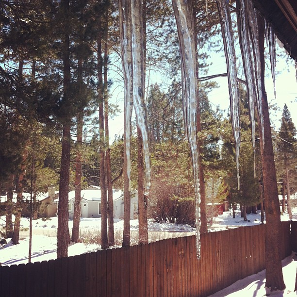 tahoe icicles